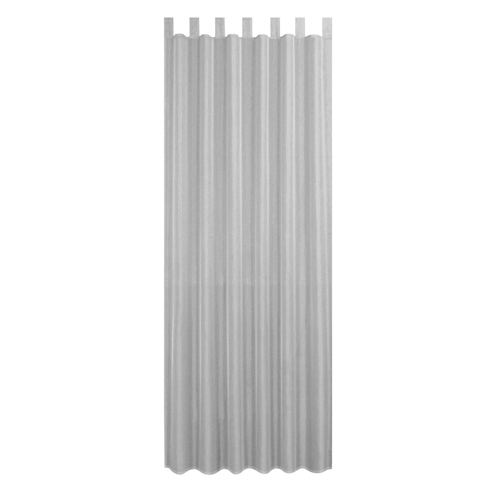 Schlaufenschal ALSTER - silbergrau - 140x235 cm