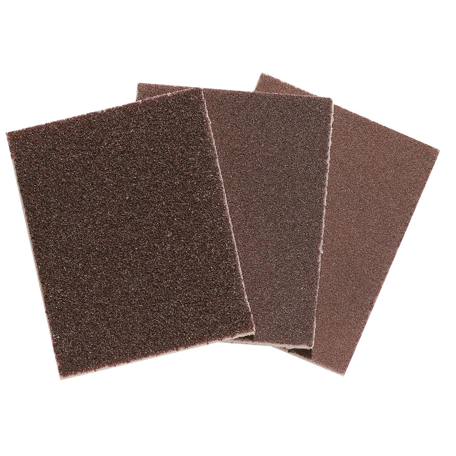 3-teiliges Schleifpapier-Set - 40-80-120 - 12,5x10 cm