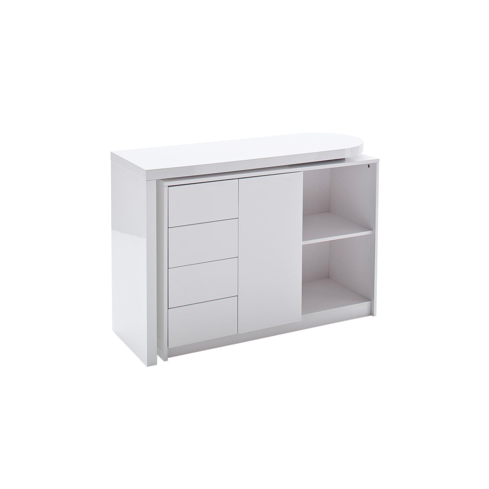 Roller Schreibtisch Weiß 2021