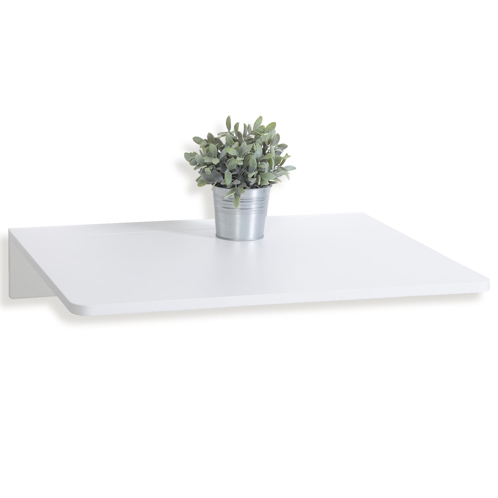 Wandklapptisch Weiß 74x76 Cm