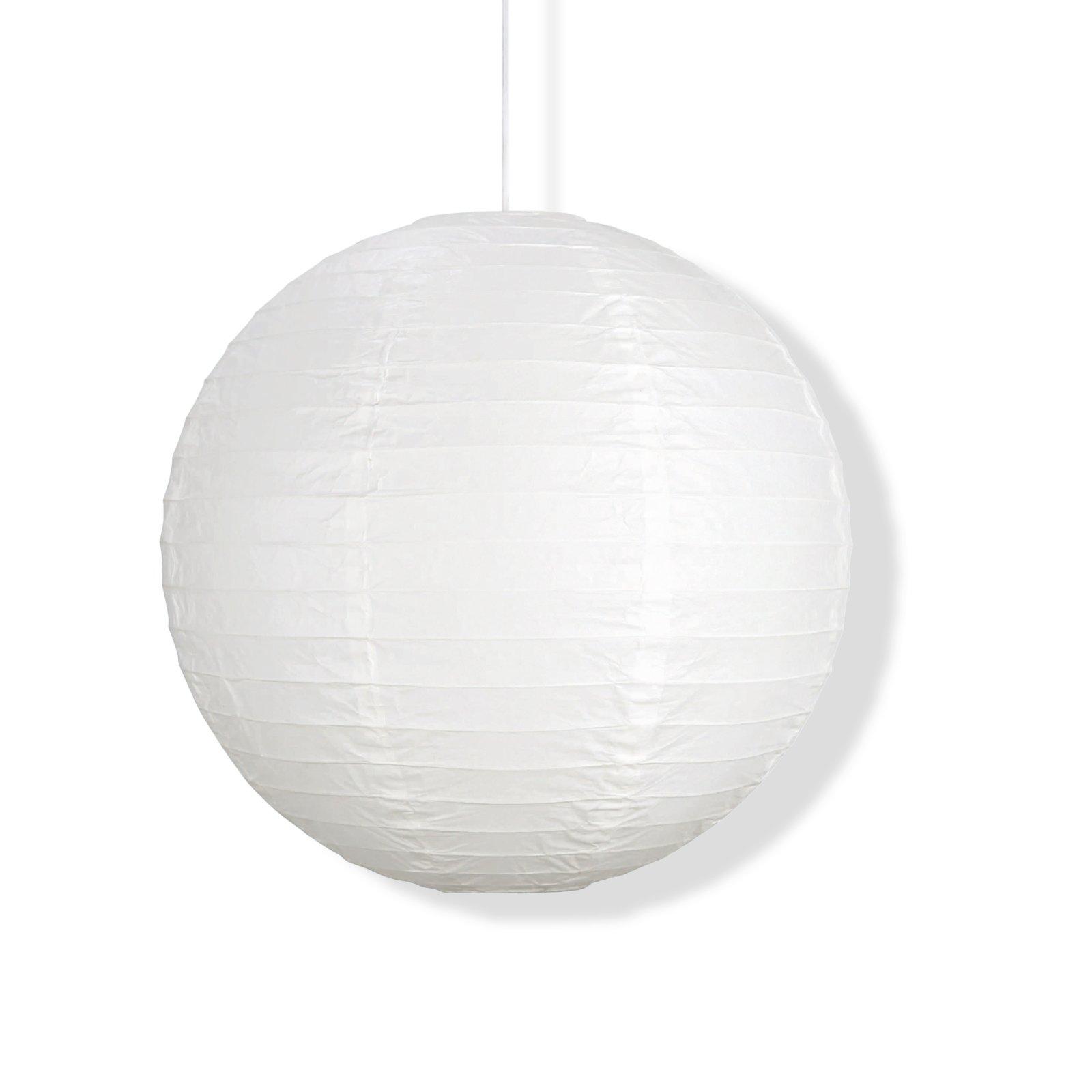 Japanballon - weiß - 50 cm