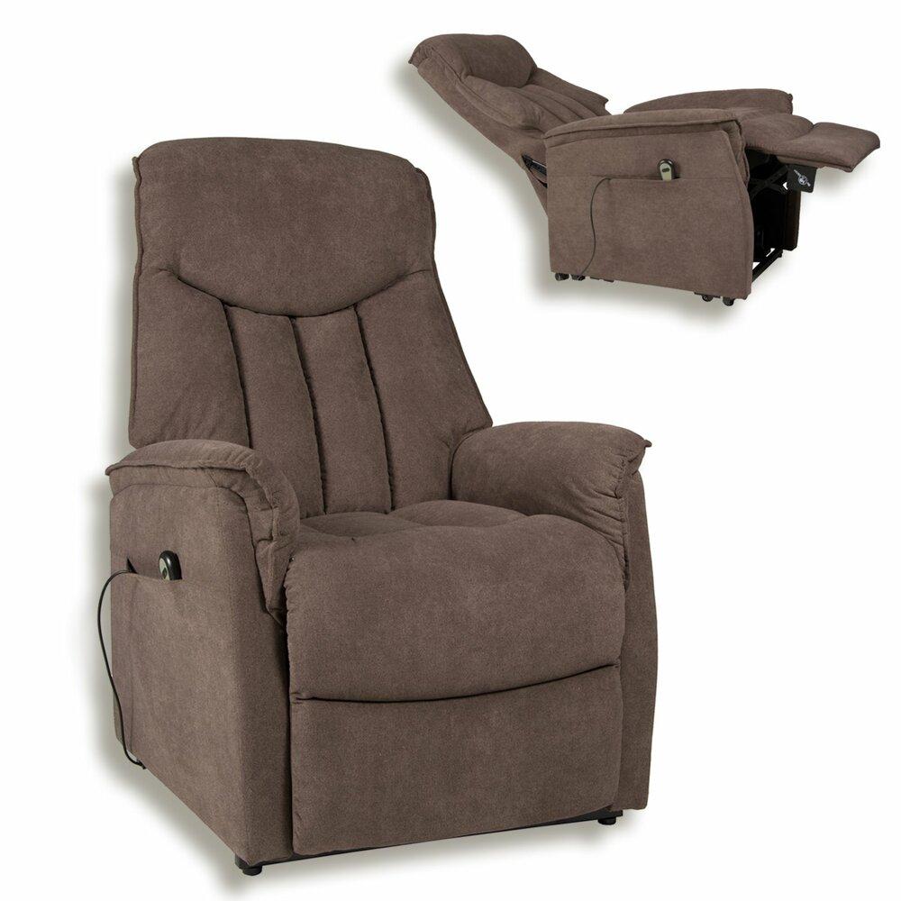tv sessel dunkelbraun mit aufstehhilfe fernseh. Black Bedroom Furniture Sets. Home Design Ideas