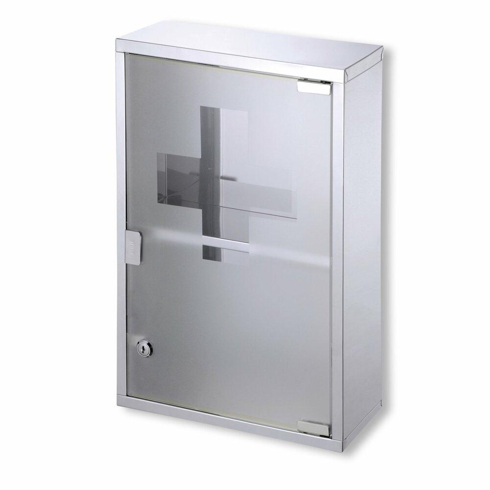 Medizinschrank mh3359 metall glast r badezimmer h ngeschr nke badm bel badezimmer - Roller badezimmer ...