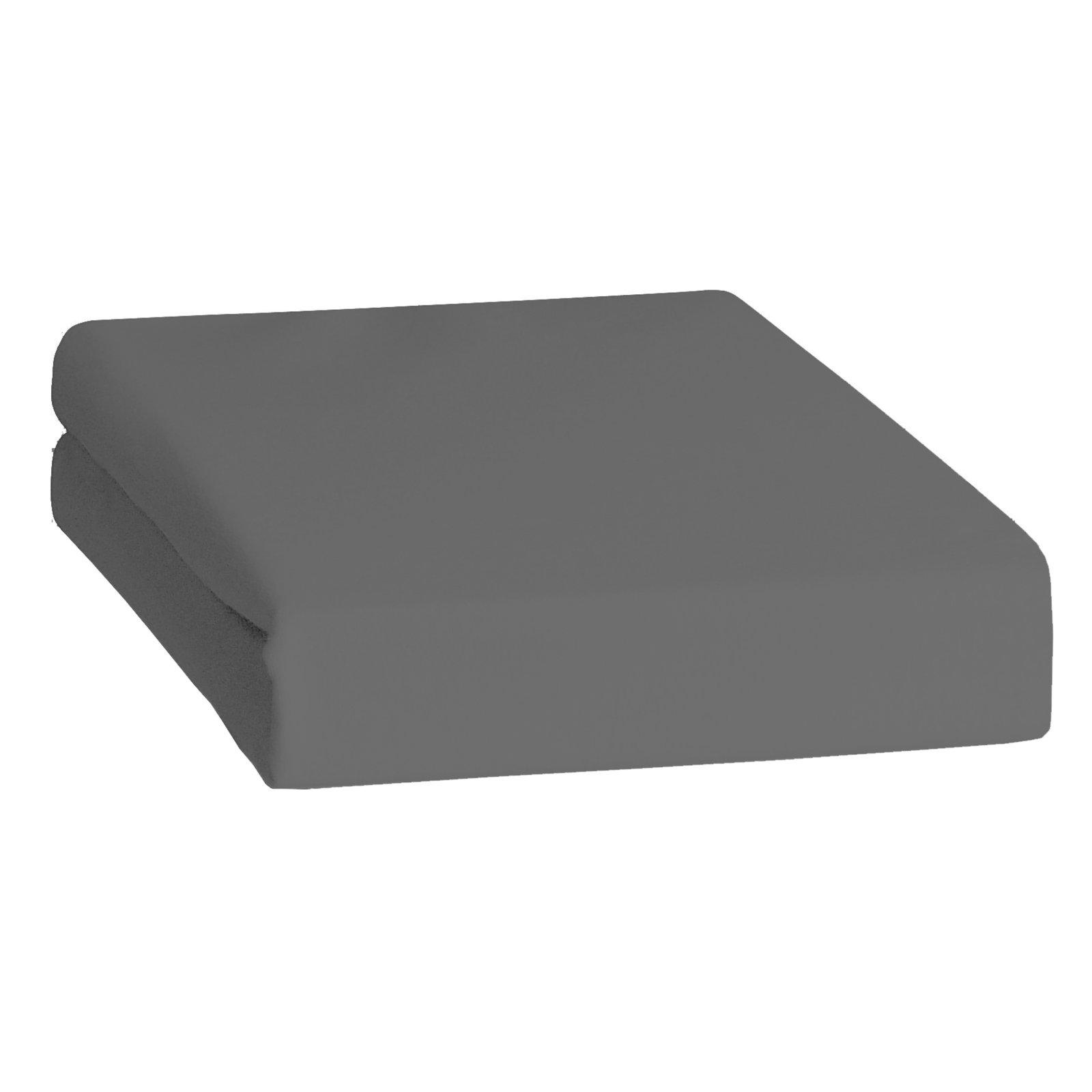 feinbiber spannbettlaken anthrazit 100x200 cm bettlaken bettw sche bettlaken. Black Bedroom Furniture Sets. Home Design Ideas