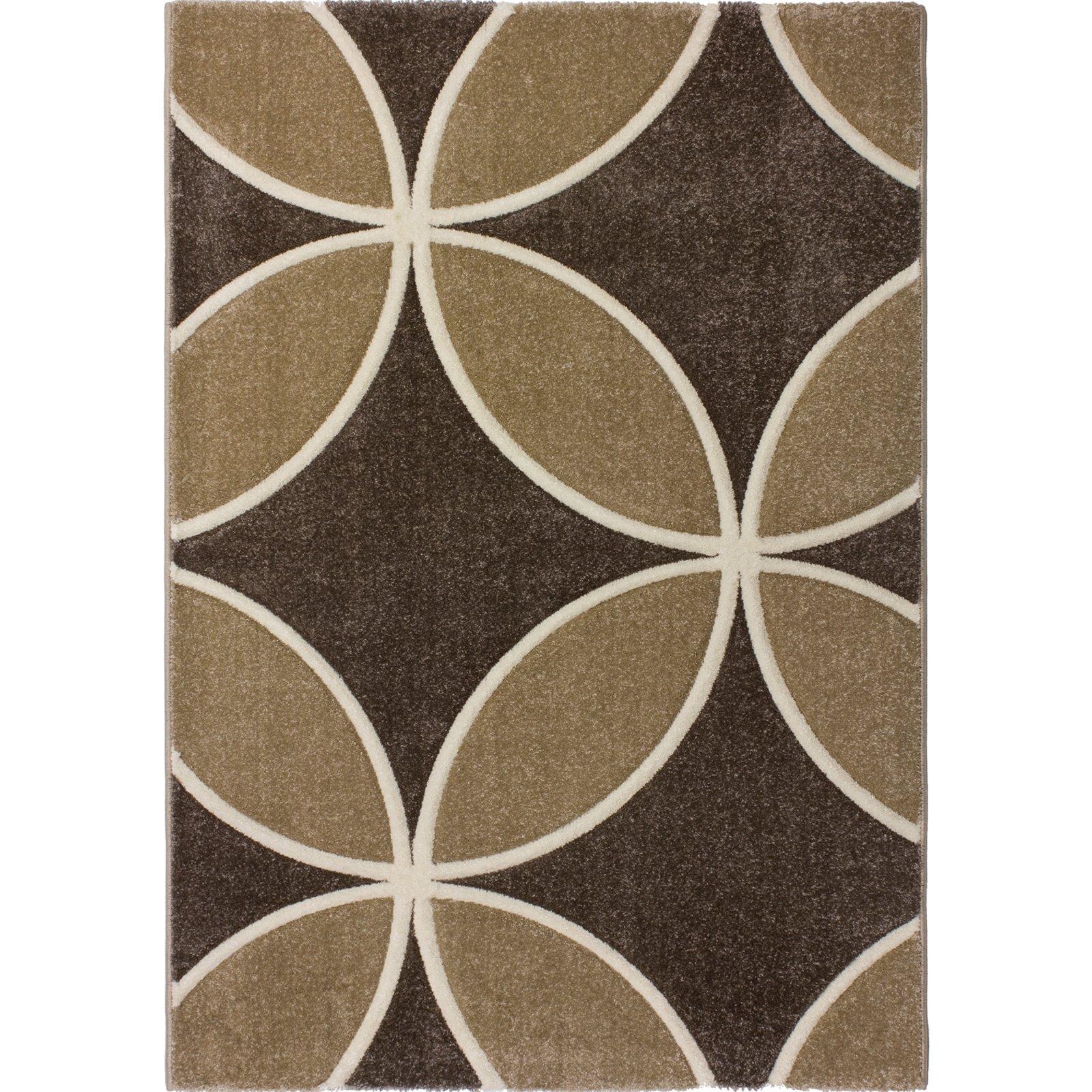teppich violin braun 170x230 cm gemusterte teppiche teppiche l ufer deko haushalt. Black Bedroom Furniture Sets. Home Design Ideas