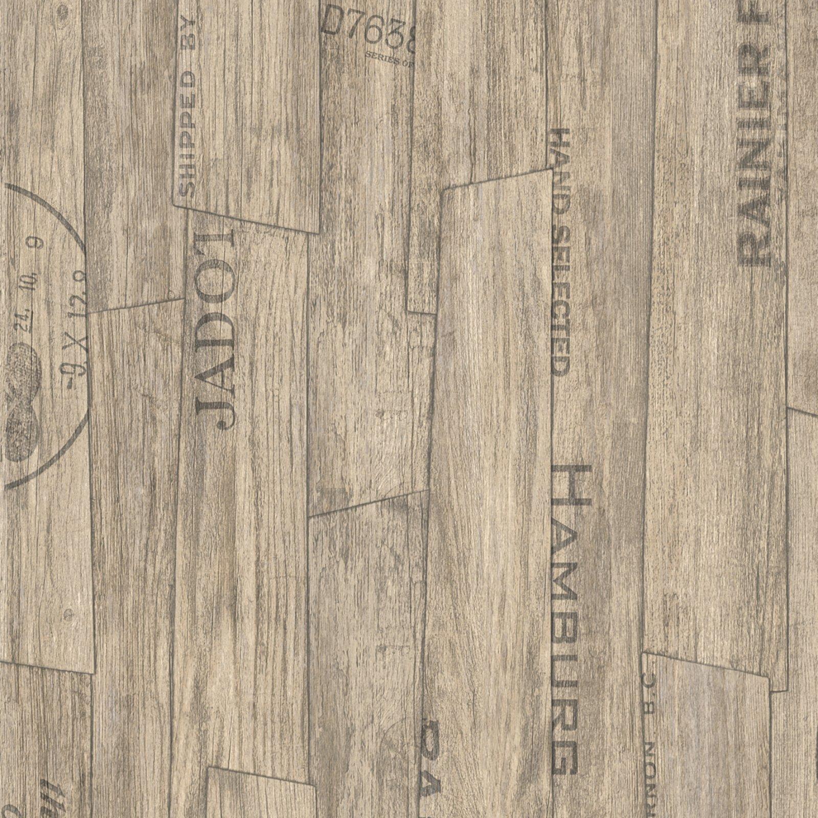 pvc-bodenbelag noah - planke beschriftet - 2 meter | pvc boden