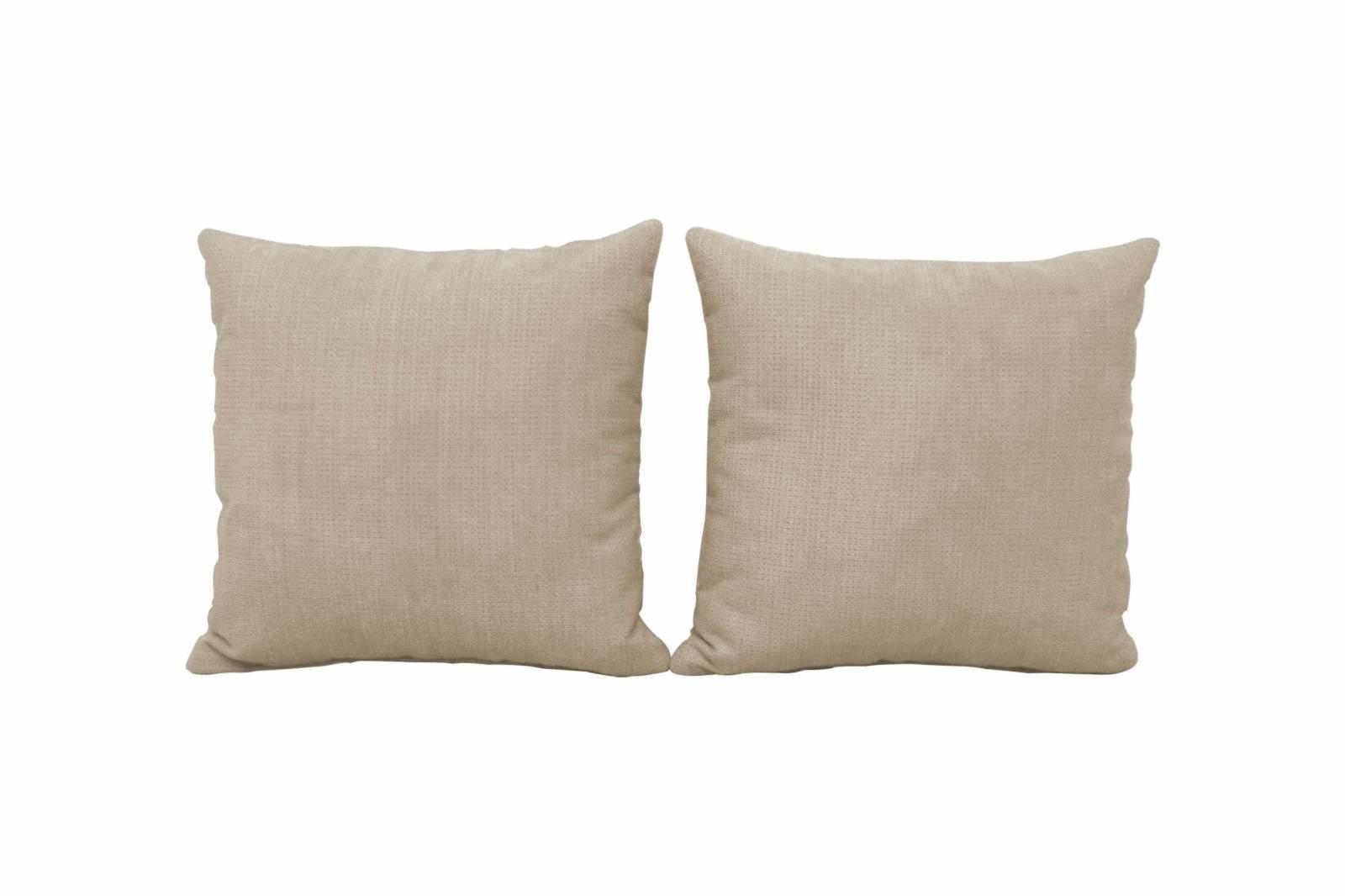 2er set kissen beige 45x45cm roller m belhaus. Black Bedroom Furniture Sets. Home Design Ideas