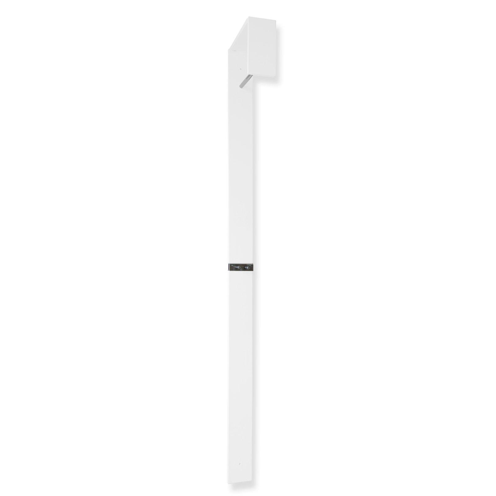 wandgarderobe wei hochglanz 10x180 cm wandgarderoben paneele flur diele. Black Bedroom Furniture Sets. Home Design Ideas