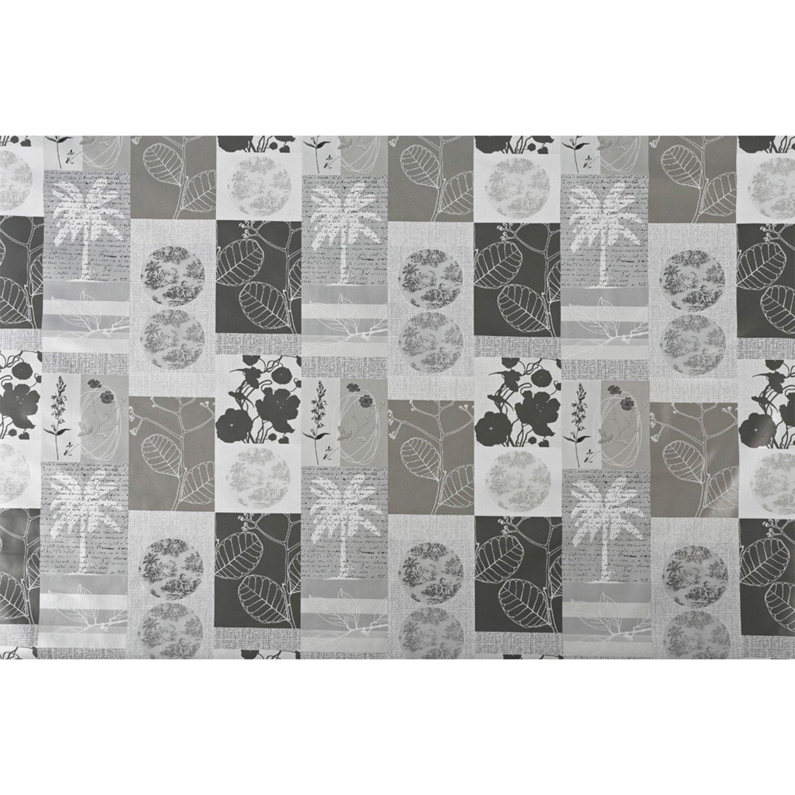 tischdecke grau romantik 140 cm breit tischdecken tischl ufer heimtextilien deko. Black Bedroom Furniture Sets. Home Design Ideas