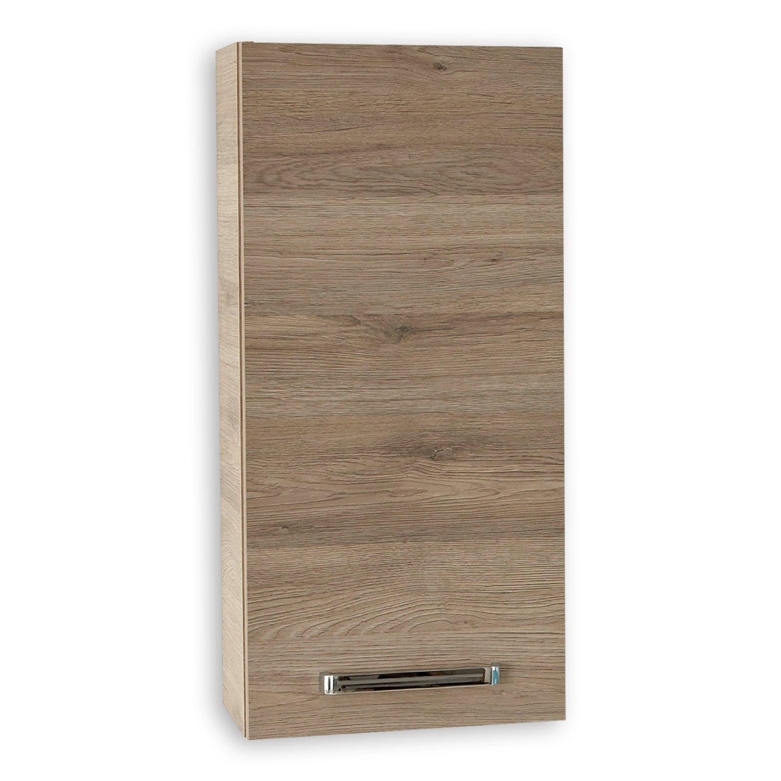 roller h ngeschrank offenbach san remo eiche ebay. Black Bedroom Furniture Sets. Home Design Ideas