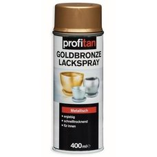 Goldbronze Lackspray profitan - metallisch - 400 ml