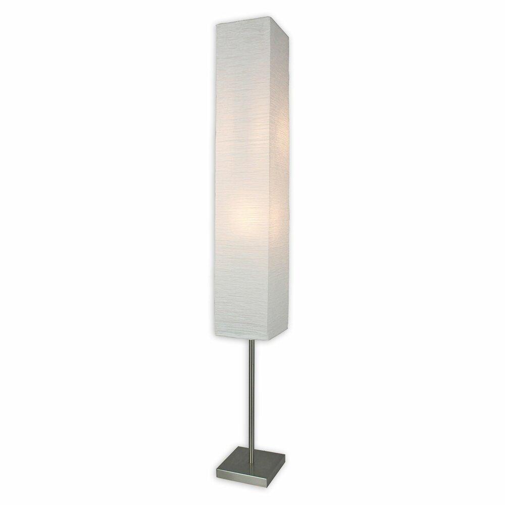 stehlampe nina papier metall 2 x e14 standleuchten stehlampen lampen roller m belhaus. Black Bedroom Furniture Sets. Home Design Ideas