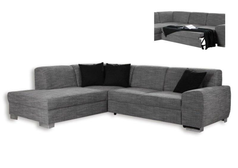 polsterecke silber federkern liegefunktion rechts. Black Bedroom Furniture Sets. Home Design Ideas