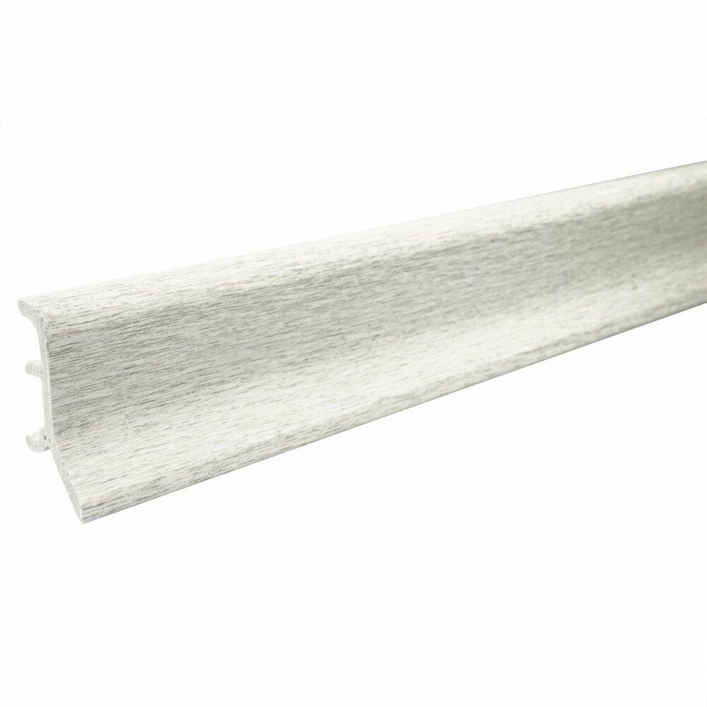 hartschaum sockelleiste esche grau 48 mm 250 cm fu leisten bodenbel ge baumarkt. Black Bedroom Furniture Sets. Home Design Ideas