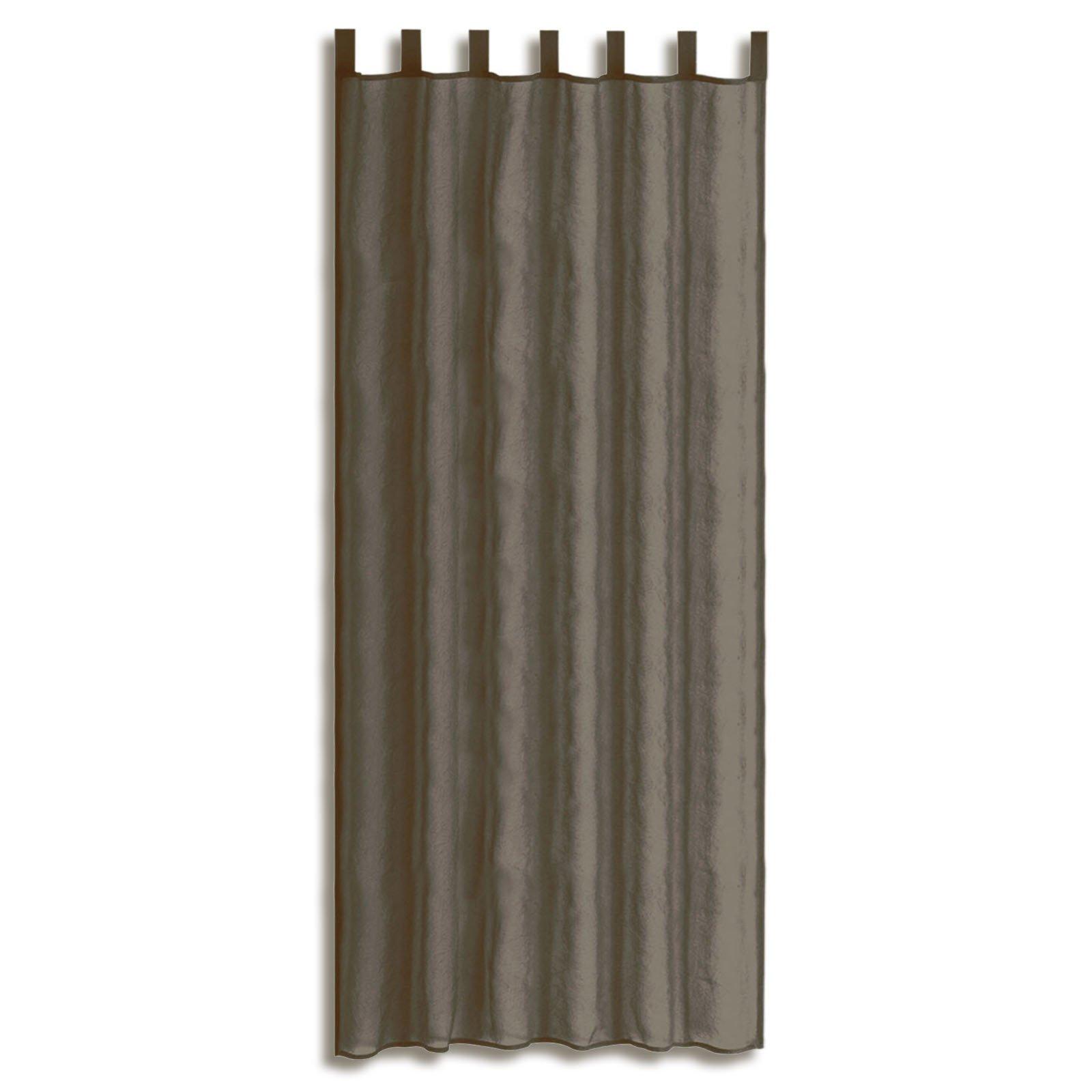 schlaufenschal granate taupe 135x235 cm transparente. Black Bedroom Furniture Sets. Home Design Ideas