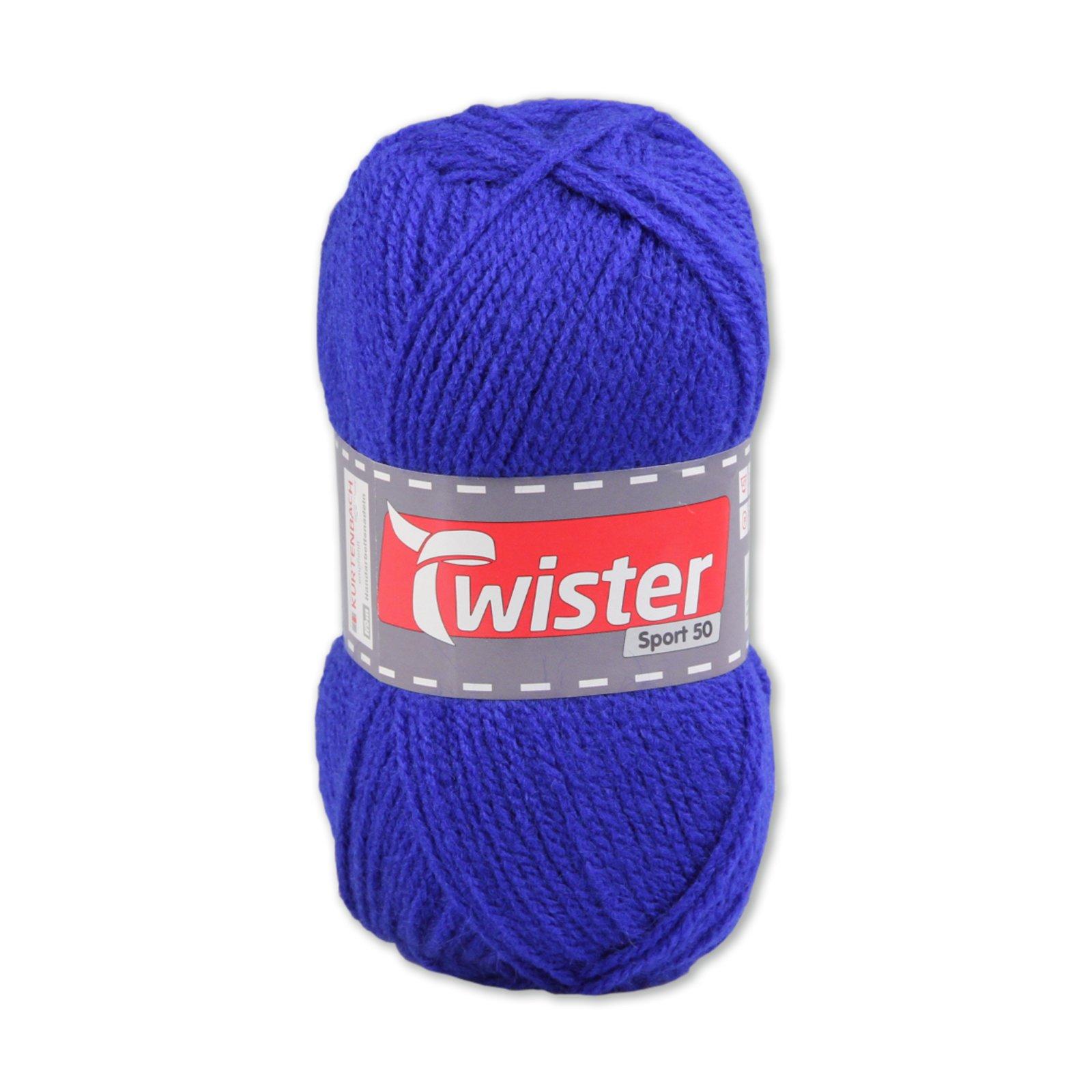 Wolle TWISTER SPORT UNI - royalblau - 50g