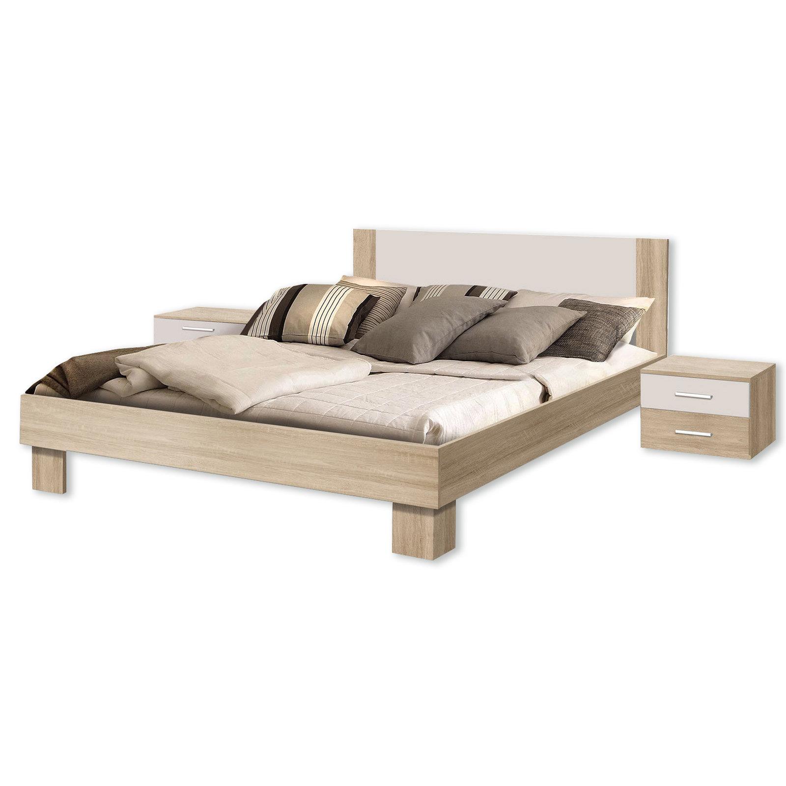 18-teiliges Schlafzimmer-Set - Sonoma Eiche