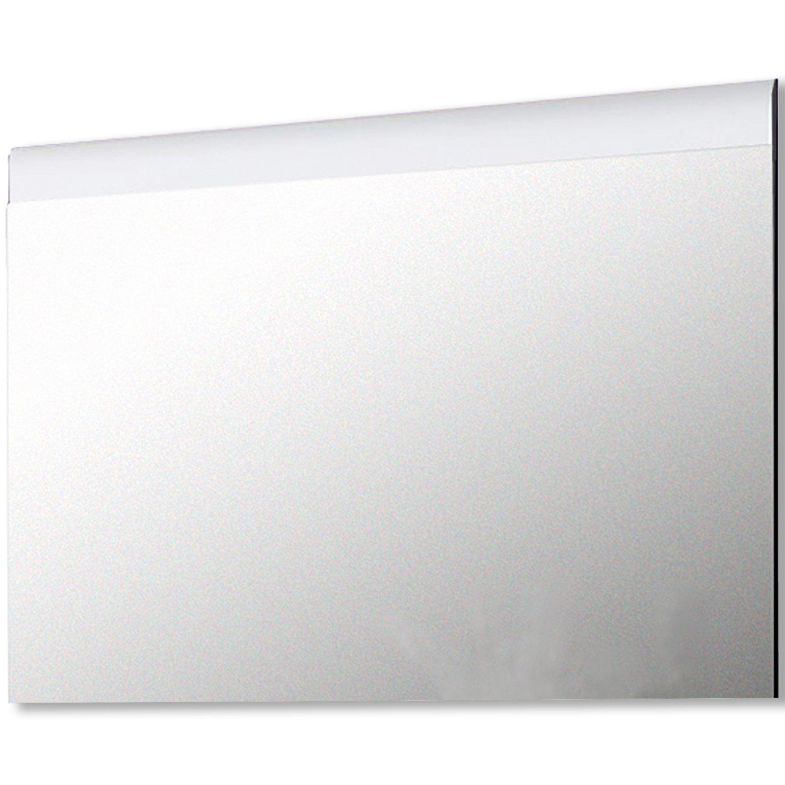 wandspiegel polar wei hochglanz 100 cm breite wandspiegel spiegel deko haushalt. Black Bedroom Furniture Sets. Home Design Ideas