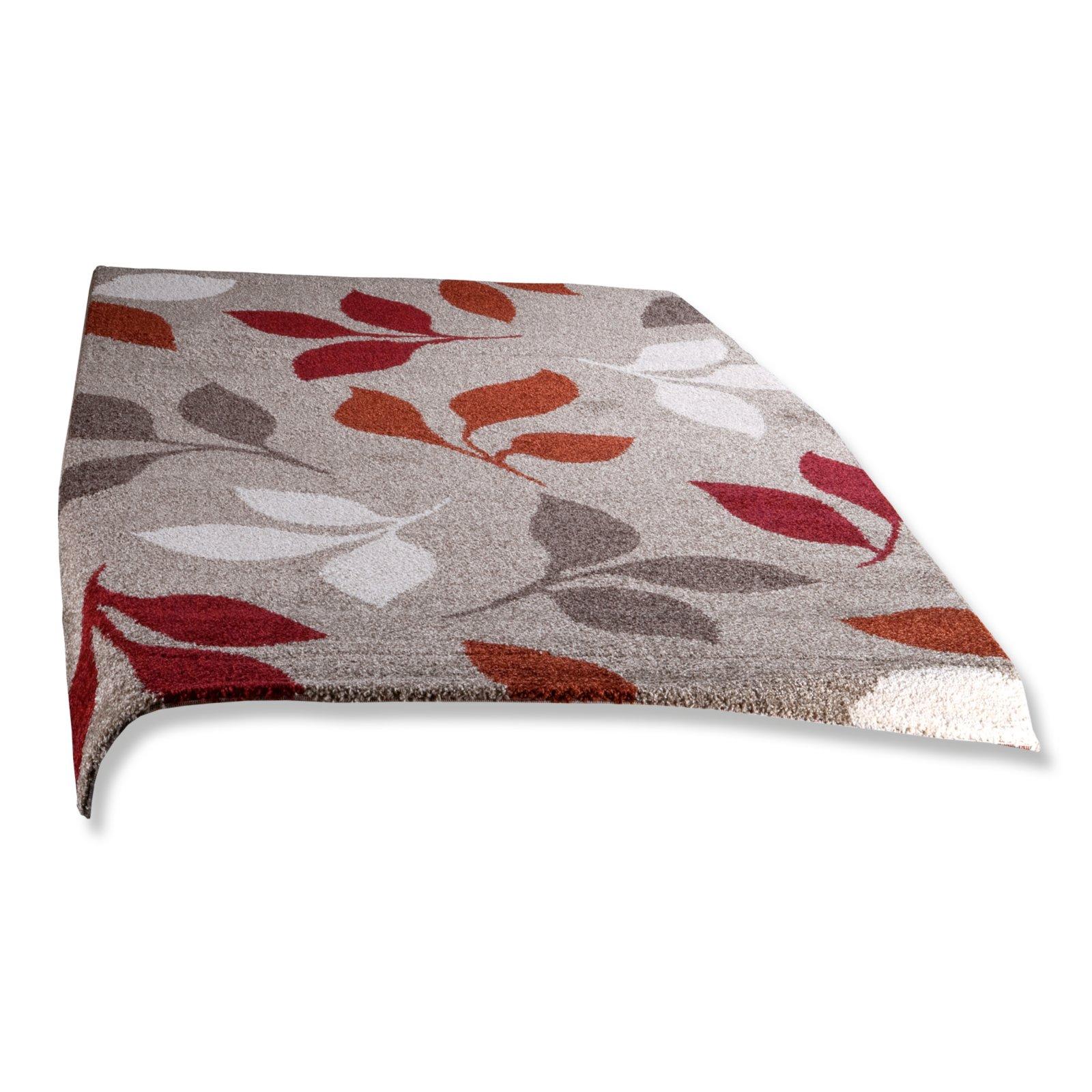 frisee teppich casa beige rot 160x230 cm gemusterte teppiche teppiche l ufer deko. Black Bedroom Furniture Sets. Home Design Ideas