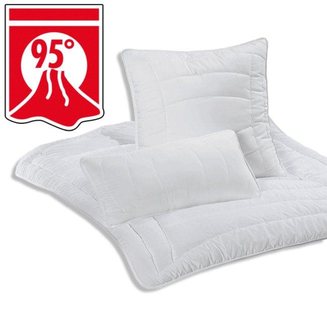 kopfkissen opti dream 40x80 cm kopfkissen bettdecken kissen heimtextilien deko. Black Bedroom Furniture Sets. Home Design Ideas