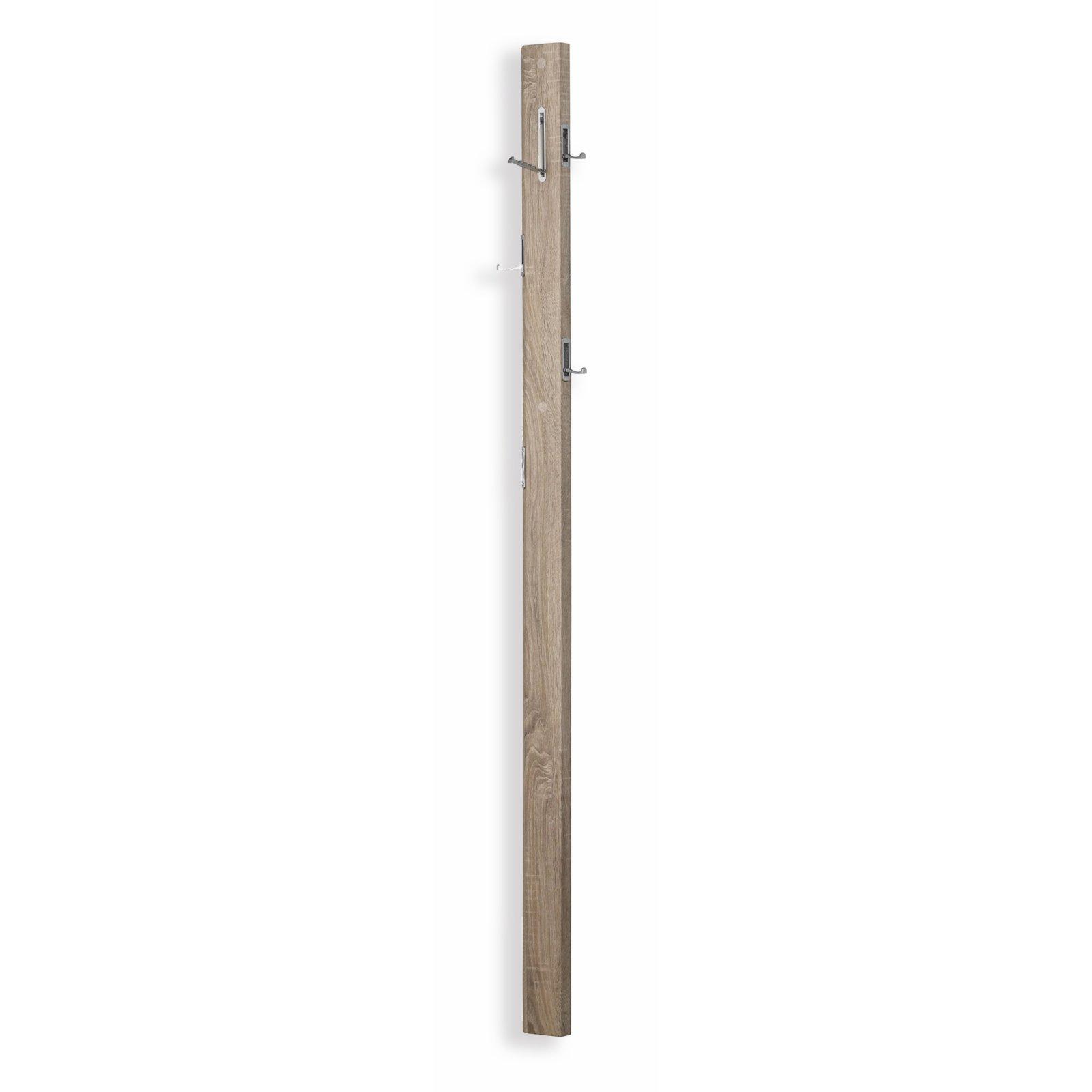 Garderobenpaneel flat sonoma eiche 10 cm breit for Garderobenpaneel 100 cm breit