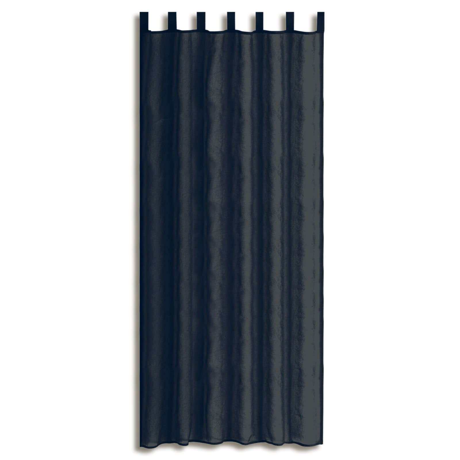 Schlaufenschal GRANATE - anthrazit - 135x235 cm