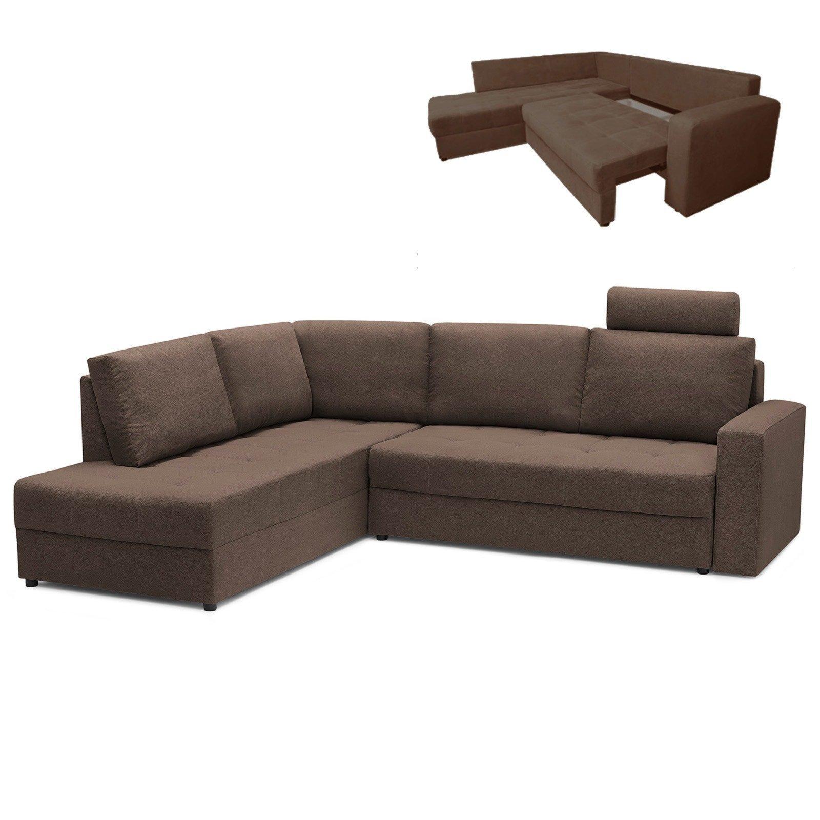 ecksofa braun mit liegefunktion ecksofas l form sofas couches m bel roller m belhaus. Black Bedroom Furniture Sets. Home Design Ideas