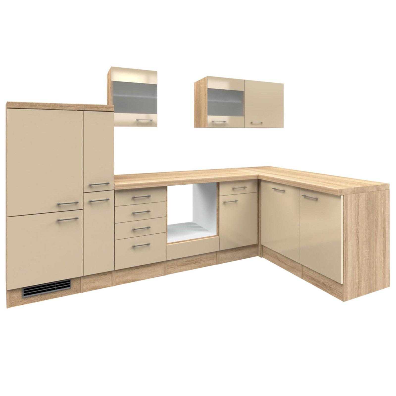 winkelk che nepal kaschmir glanz sonoma eiche 310x170. Black Bedroom Furniture Sets. Home Design Ideas