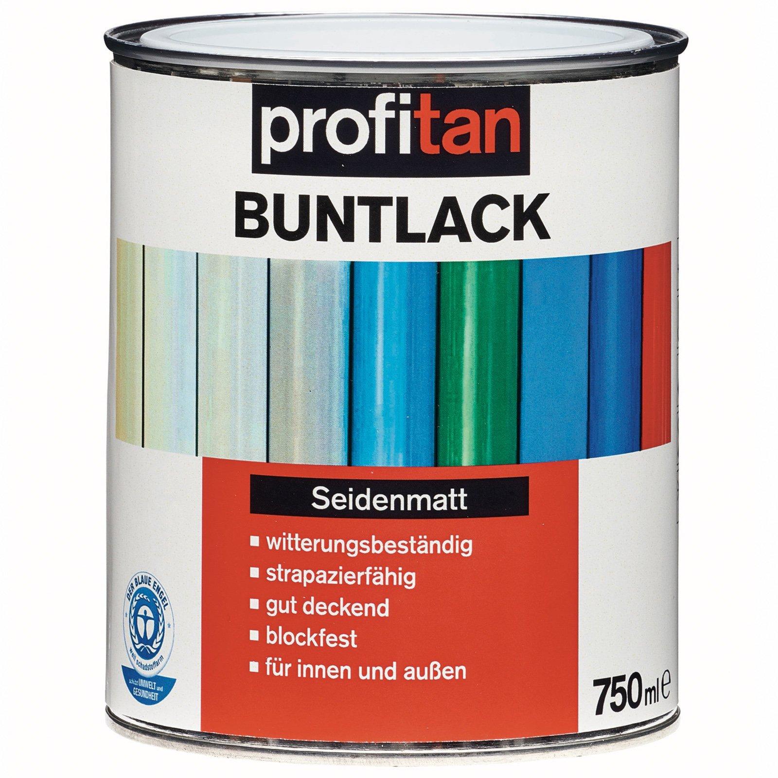profitan Buntlack - reinweiß seidenmatt - 750 ml