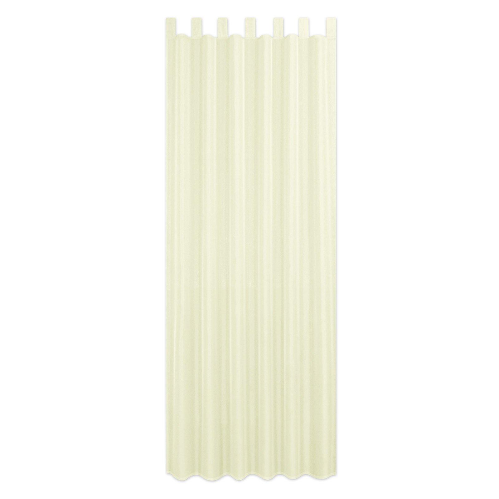 Schlaufenschal ALSTER - creme - 140x235 cm