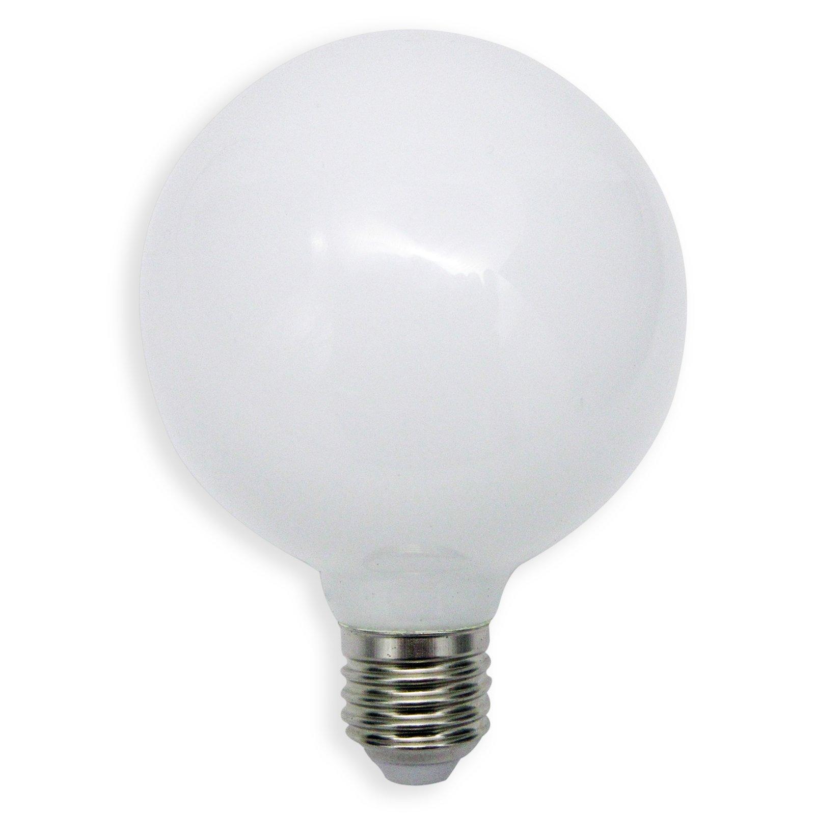 led leuchtmittel globe nostalgia lightime e27 5 w warmwei led leuchtmittel. Black Bedroom Furniture Sets. Home Design Ideas