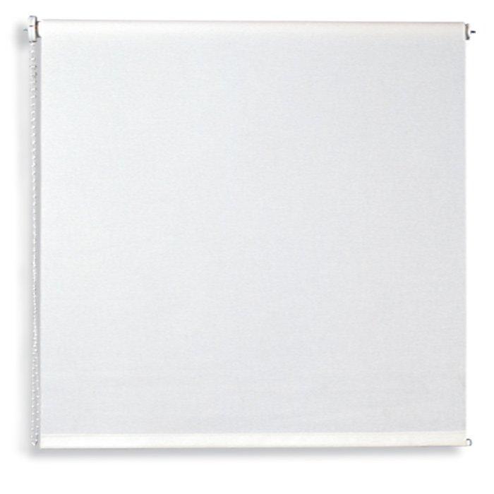 Verdunklungsrollo - weiß - 180x180 cm