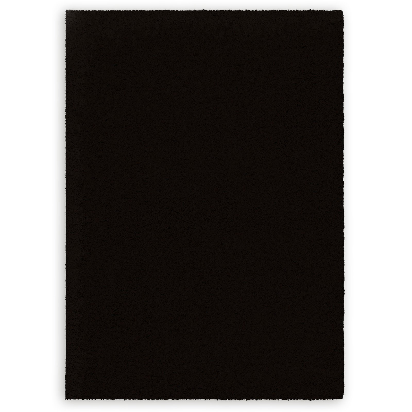 teppich desire schwarz 160x230 cm einfarbige teppiche teppiche l ufer deko. Black Bedroom Furniture Sets. Home Design Ideas