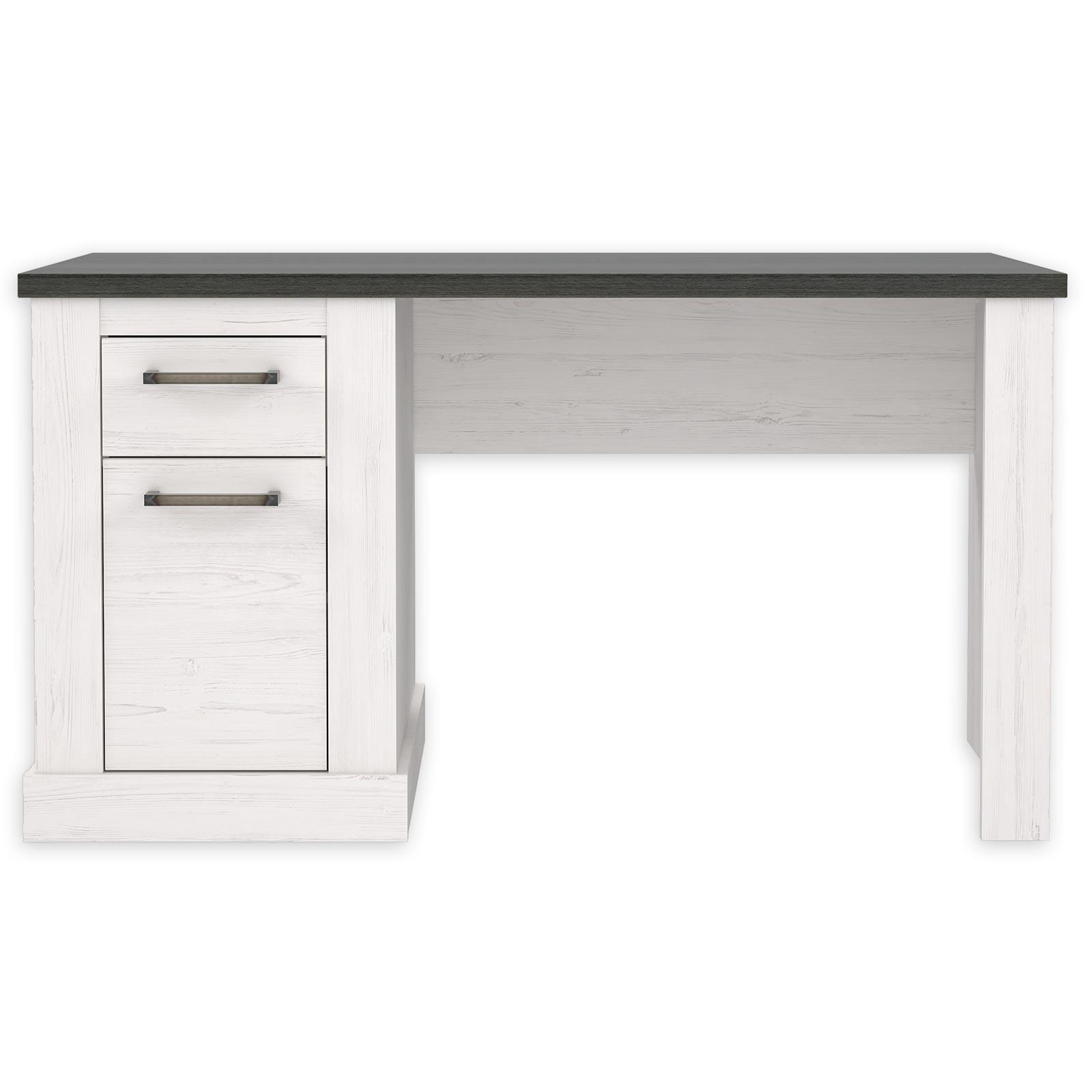 Schreibtisch Pinie Weiss Touchwood 138 Cm Online Bei Roller Kaufen