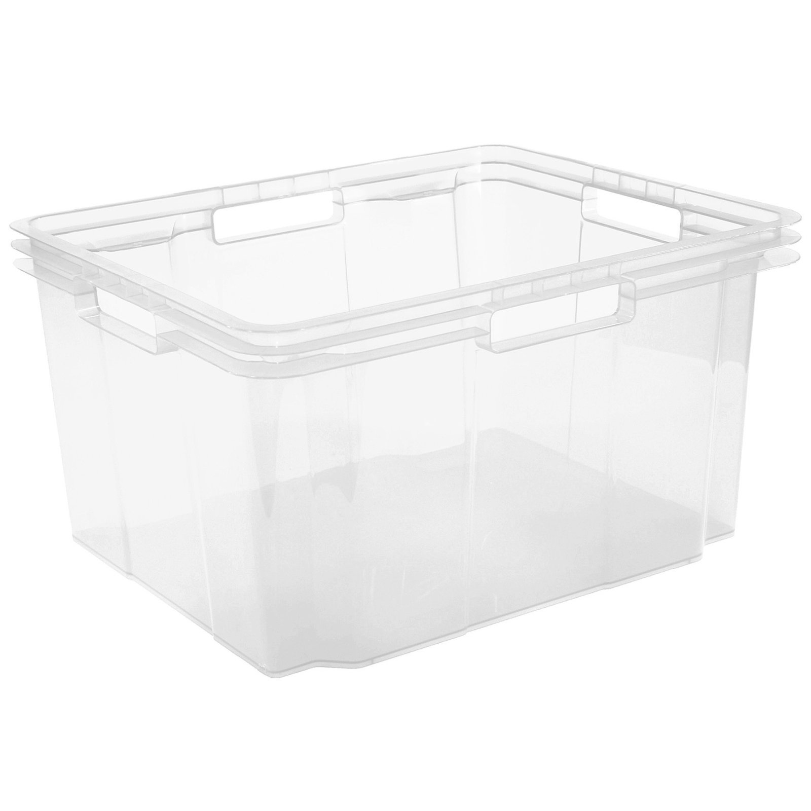 Stapelbox - transparent - 26 Liter