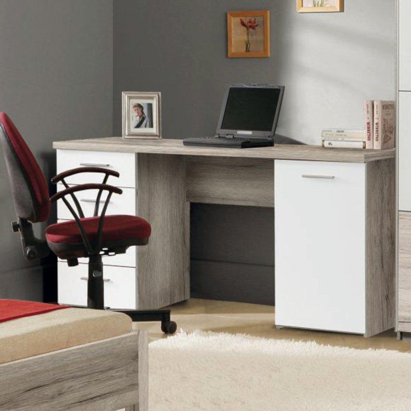 schreibtisch beach sand eiche wei schreibtische. Black Bedroom Furniture Sets. Home Design Ideas