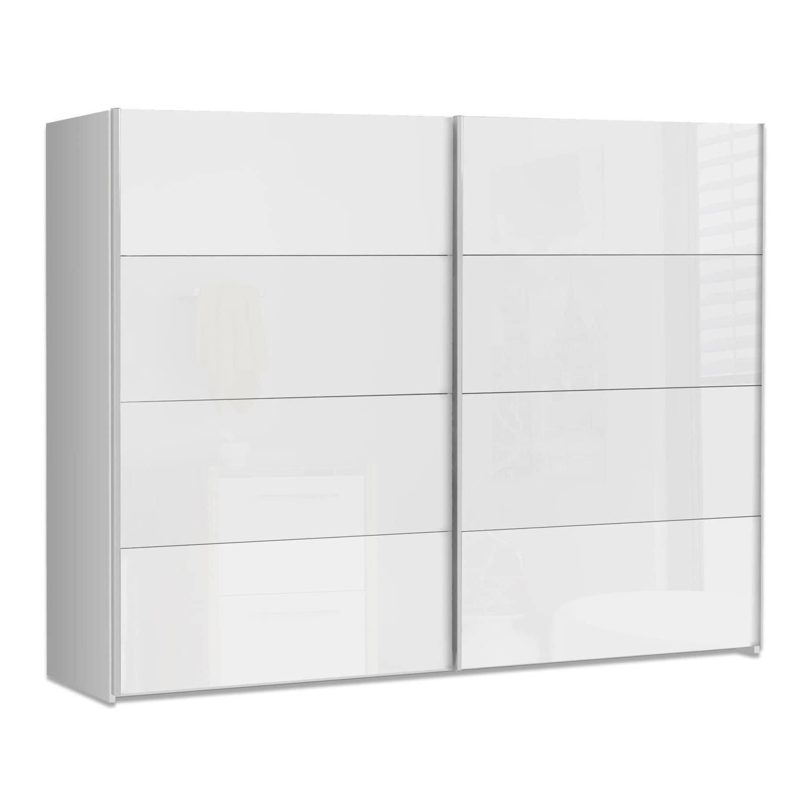 schwebet renschrank starlet plus wei hochglanz 270 cm schwebet renschr nke. Black Bedroom Furniture Sets. Home Design Ideas