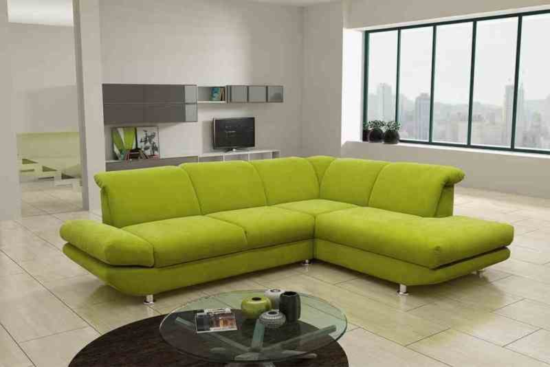 ecksofa gelb gr n mit funktionen recamiere rechts ecksofas l form sofas couches. Black Bedroom Furniture Sets. Home Design Ideas