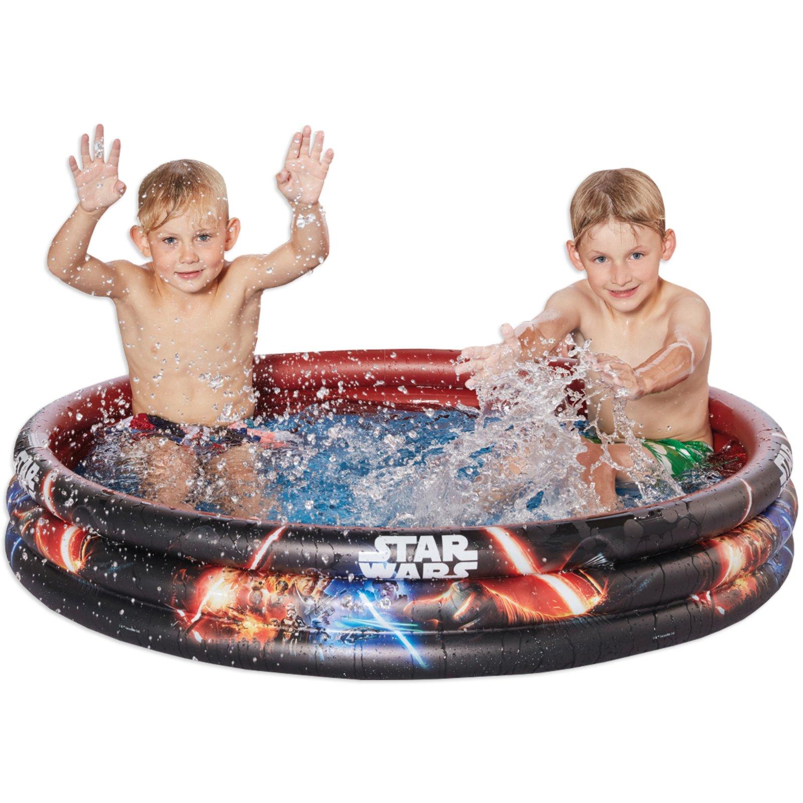 Pool STAR WARS - schwarz-rot - 120 cm