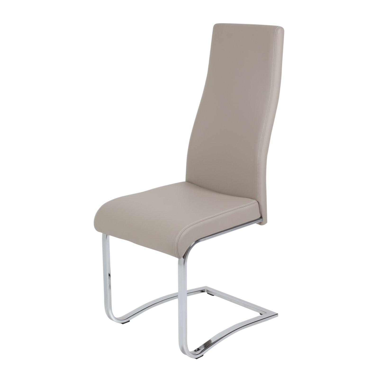 schwingstuhl bella 3 beige kunstleder freischwinger. Black Bedroom Furniture Sets. Home Design Ideas
