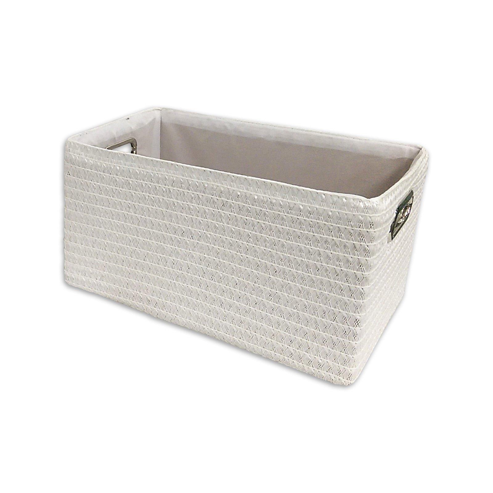 Aufbewahrungsbox - weiß - small