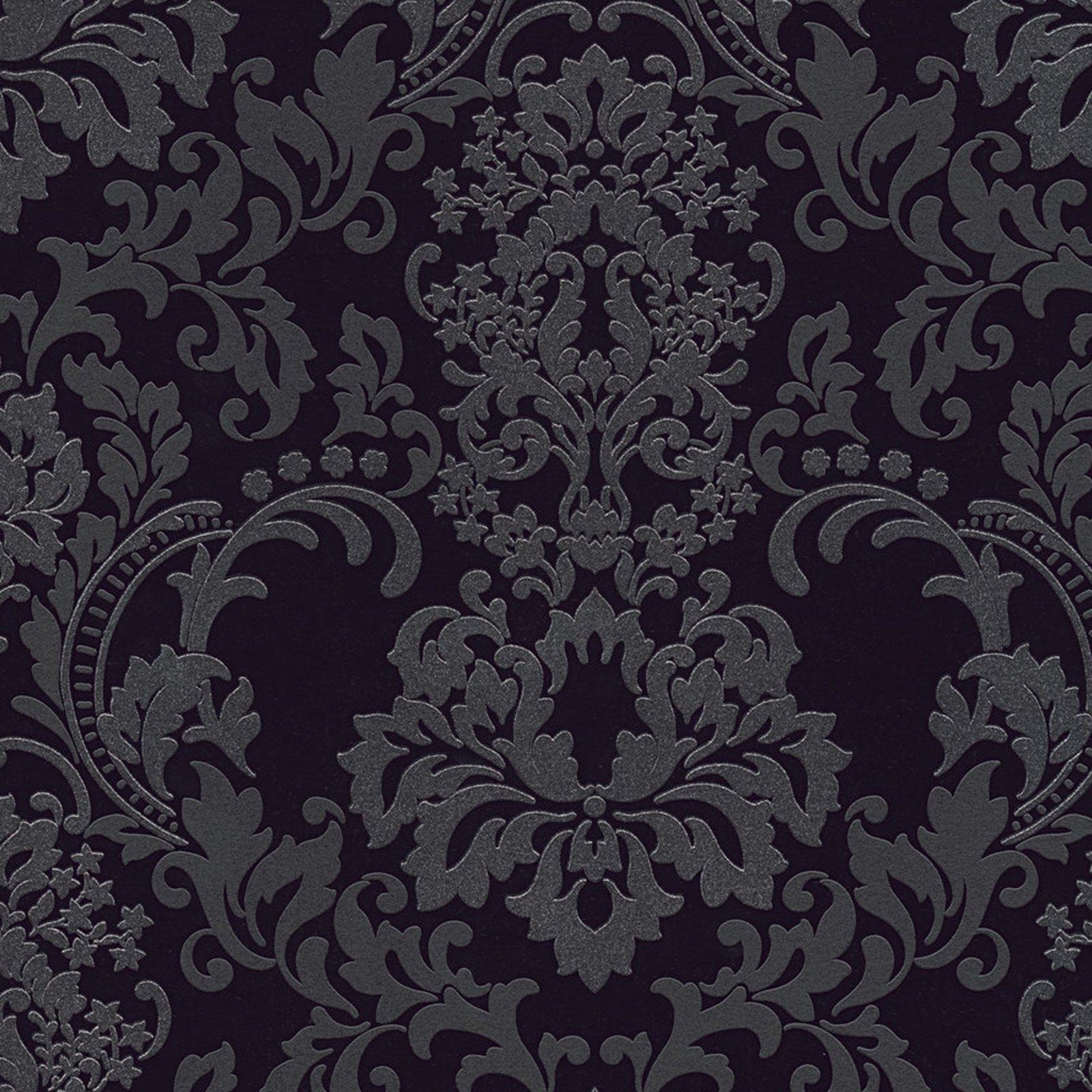 A.S. Creation Vliestapete NEUE BUDE 2.0 - schwarz - Ornamente - 10 Meter