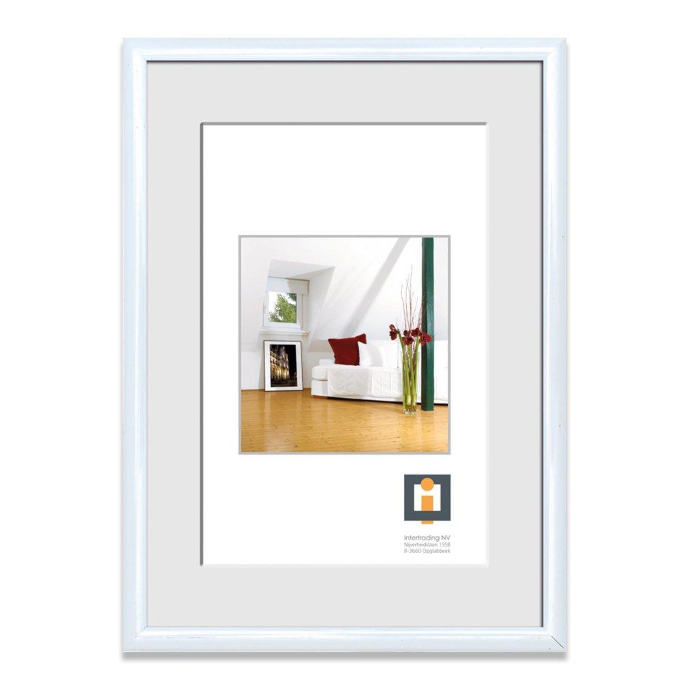 Bilderrahmen wei kunststoff 21x30 cm bilderrahmen for Bilderrahmen wohnzimmer