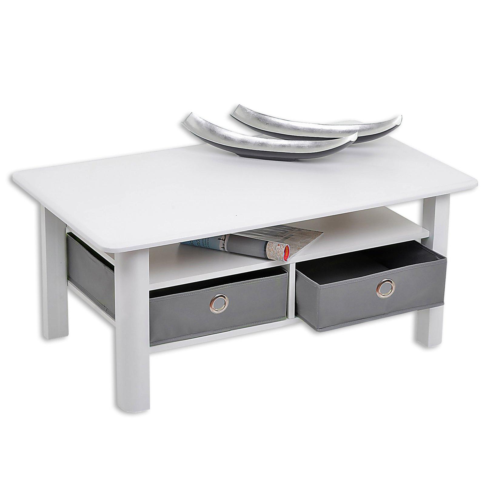 couchtisch plata wei mit 2 faltboxen couchtische. Black Bedroom Furniture Sets. Home Design Ideas