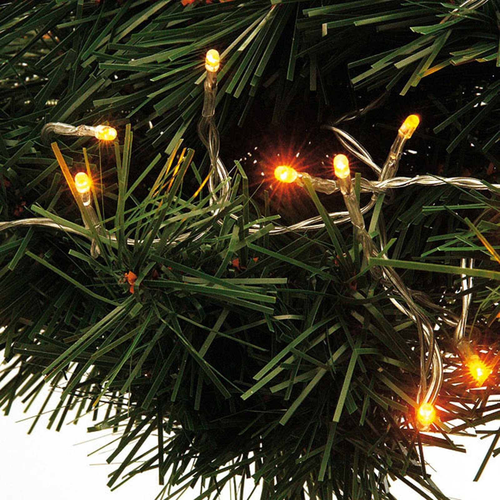 LED-Mini-Lichterkette - warmweiß - 150 cm