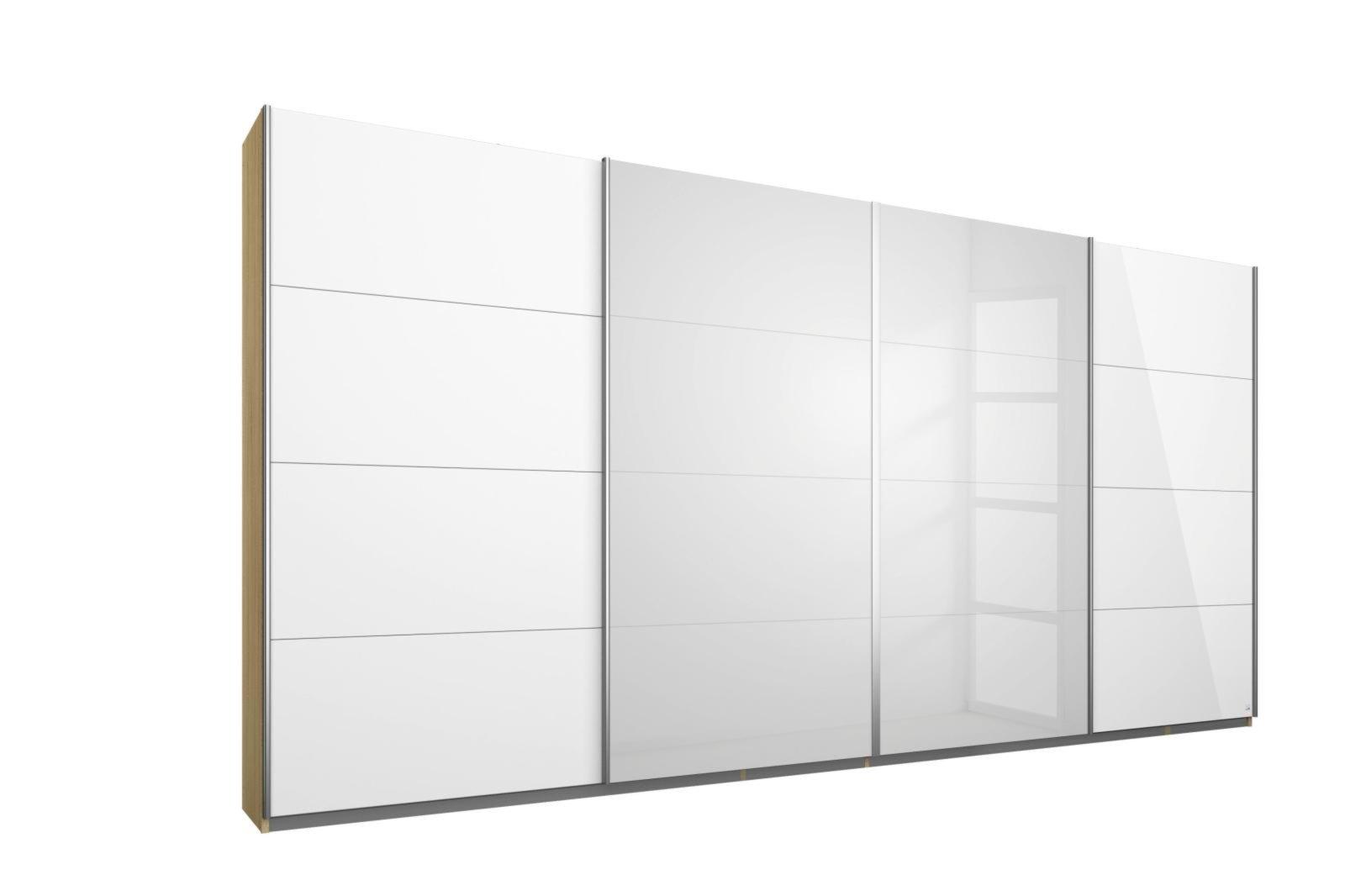 schwebet renschrank syncrono sonoma eiche wei hochglanz 361 cm schwebet renschr nke. Black Bedroom Furniture Sets. Home Design Ideas