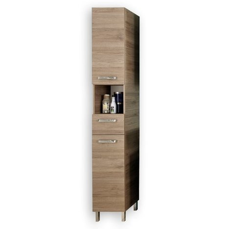 hochschrank offenbach san remo eiche badprogramm offenbach badprogramme badezimmer. Black Bedroom Furniture Sets. Home Design Ideas