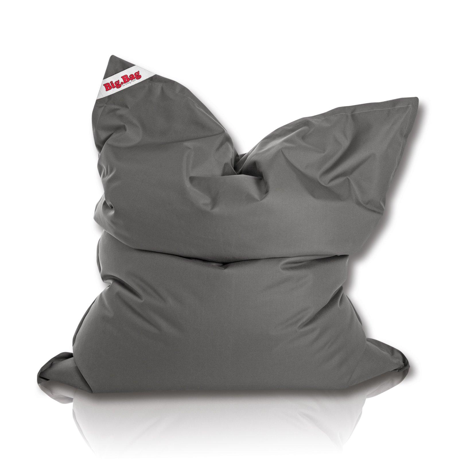 sitting point sitzsack brava big anthrazit sitzs cke. Black Bedroom Furniture Sets. Home Design Ideas