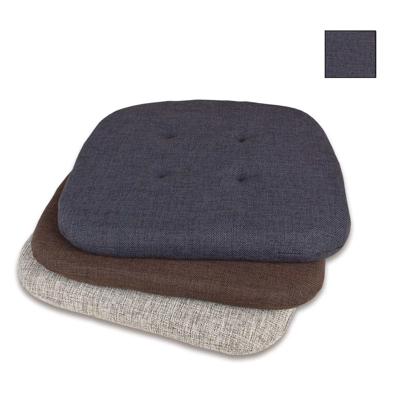 stuhlkissen forest anthrazit 41x41 cm stuhl. Black Bedroom Furniture Sets. Home Design Ideas
