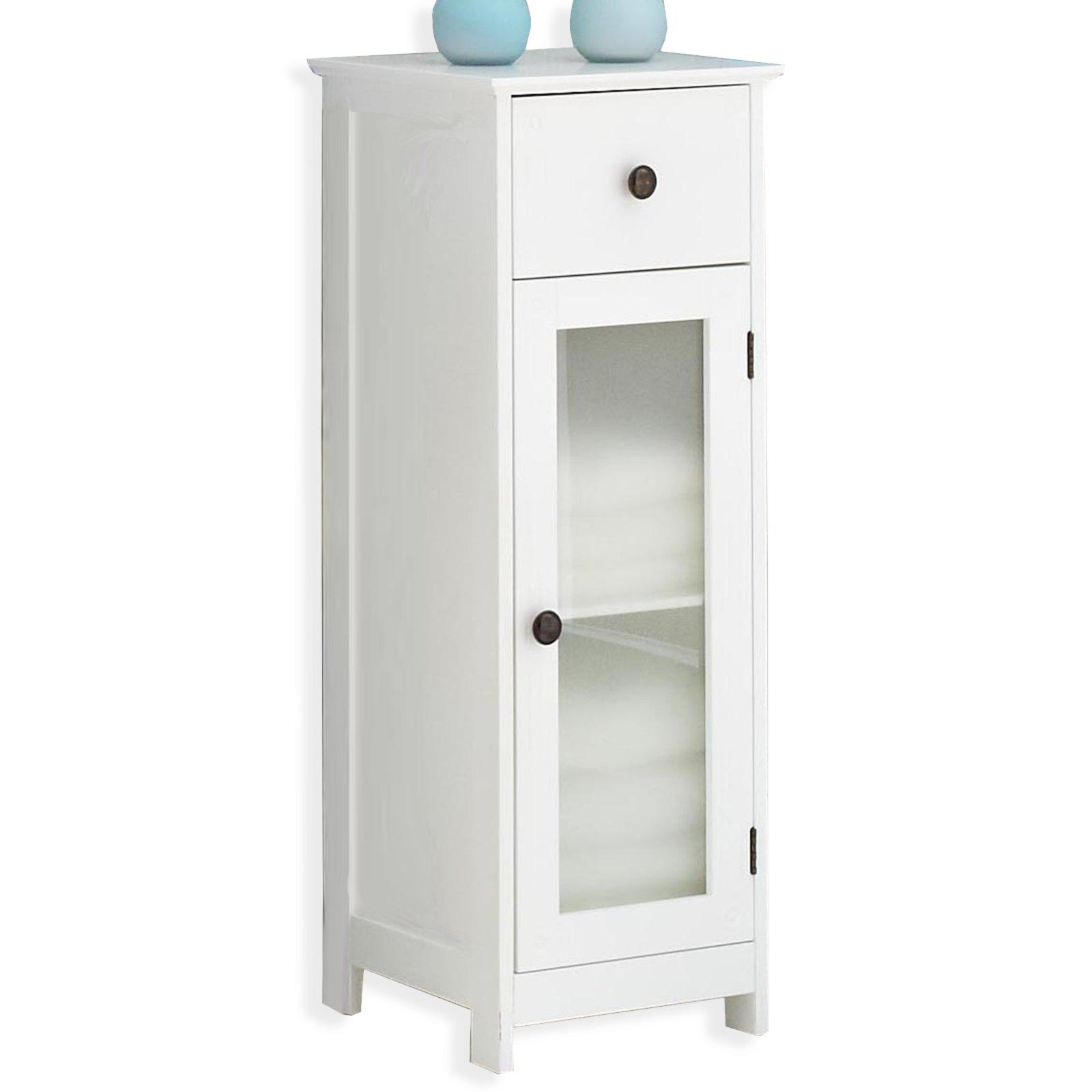 unterschrank maxim wei hochglanz glas badezimmer hoch midischr nke badm bel. Black Bedroom Furniture Sets. Home Design Ideas